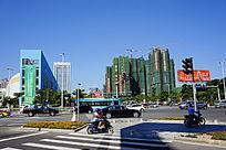 城市道路建筑