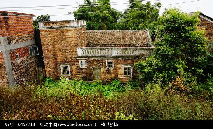 农村建筑风光图片