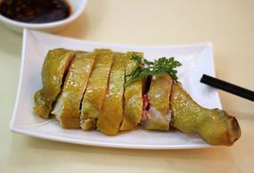 清蒸口水鸡菜品图