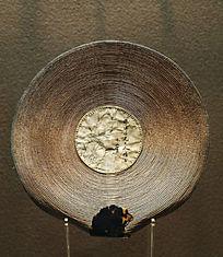 中国传统工艺麦草扇