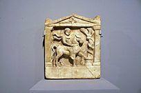 罗马时代 浮雕色雷斯骑士