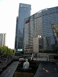 上海国金中心商务楼