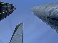 上海浦东超高层建筑