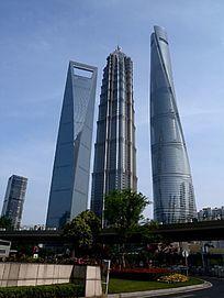 上海浦东陆家嘴金茂大厦