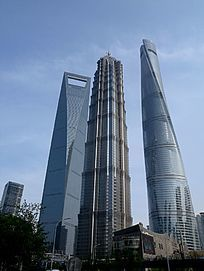 上海浦东上海中心大楼