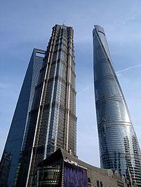上海浦东上海中心大楼三件套