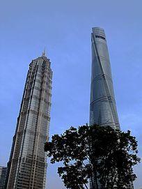 上海浦东上海中心金茂大厦楼宇