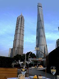上海浦东上海中心下午茶