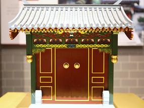 一殿一卷式传统中式垂花门