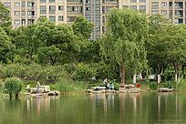 时代公园休闲场所