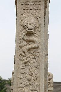 五塔寺石刻浮雕龙云碑刻