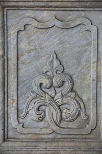 五塔寺石刻花纹边框
