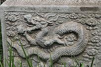 五塔寺石刻清代浮雕龙纹