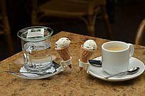 下午茶加冷饮