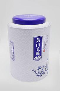 中国名茶黄山毛峰一斤装包装桶