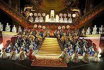 歌剧《图兰朵》舞台设计模型