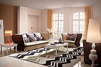温馨客厅家装效果图
