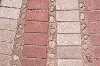 砖砌地面拼图纹理素材