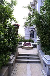 欧式别墅园林花园