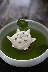 绿豆煮莲菜