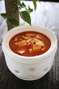 养生番茄豆腐