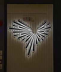 番禺万达广场创意放射性水滴灯饰