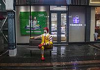 番禺万达广场麦当劳叔叔雕塑