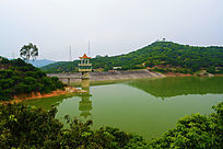 水坝的景观