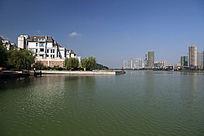 高清城市建筑梅溪湖