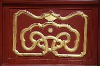古代吉祥描金边框