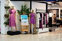 女装模特室内装饰