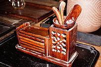 木制品笔筒