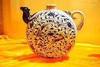 青花陶瓷酒壶