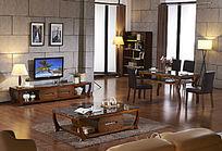 中式室内客厅设计