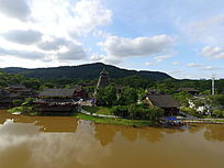 俯瞰广西民族村