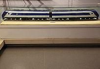 东风型内燃机车火车模型