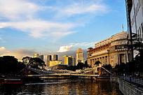 新加坡滨海建筑风光