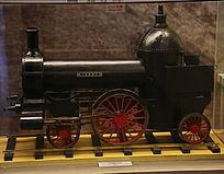 早期蒸汽机火车模型