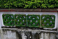 中国风陶瓷雕刻花纹