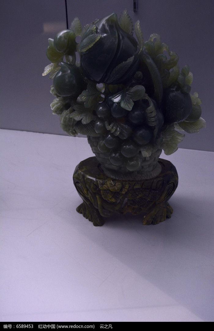 翡翠水果篮图片