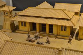 古代商铺模型