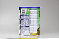 惠氏金装2段900g奶粉侧面营养表