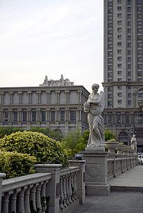 欧式园林酒店景观
