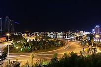 夜晚下的城市