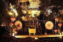 民间艺术舞台