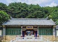 千山太和宫屋式建筑正门