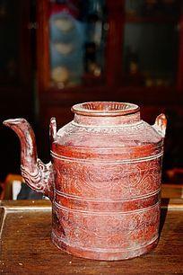 陶瓷茶壶图片