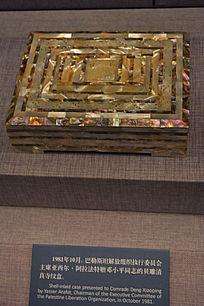 贝雕清真寺纹盒