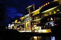 城市建筑夜色
