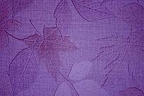 枫叶图案紫色背景